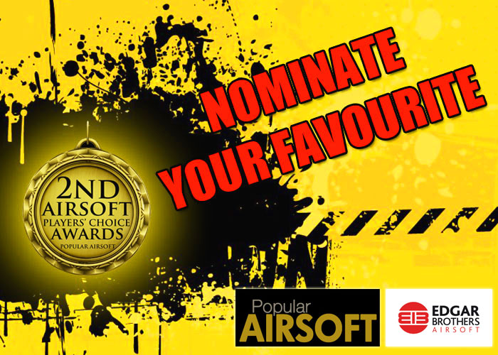 2nd Airsoft Players' Choice Awards Nominations
