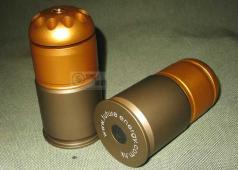 40mm Grenade Cartridge, 84mm long  10 holes 60 Rds