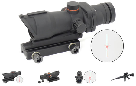 ACOG Scope Red Reticle Just Released By Star Airsoft | Popular Airsoft