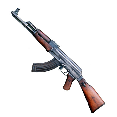 During World War II, the Germans developed the assault rifle concept,