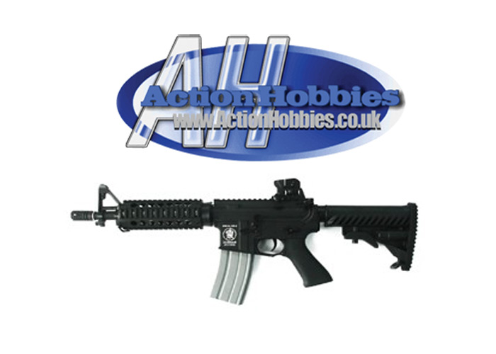 APS M4 CQB Airsoft Gun (Metal Body) Action Hobbies