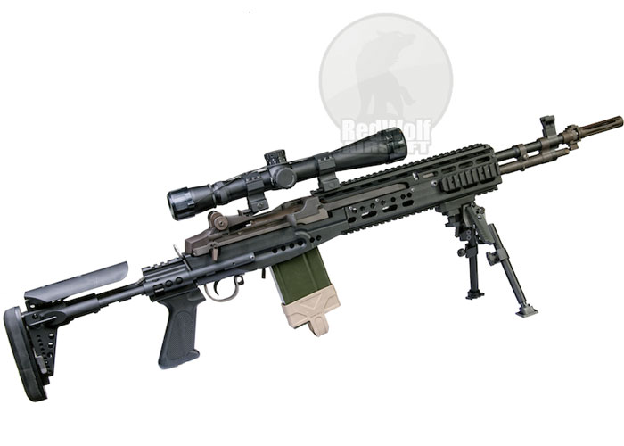 Airsoft Surgeon Custom WE M14 EBR GBB | Popular Airsoft M14 Ebr Rifle
