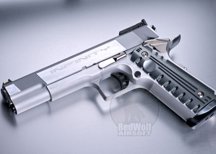 Airsoft Surgeon Infinity Silver Single Stack Popular Airsoft