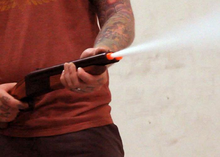 Exceptionnel AOD: Hwasan Double Barrel Gas Shotgun | Popular Airsoft XR65