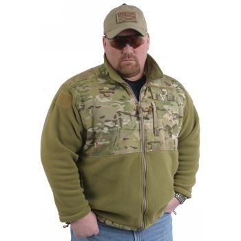 Tactical Tailor Fleece Jacket Multicam | Popular Airsoft