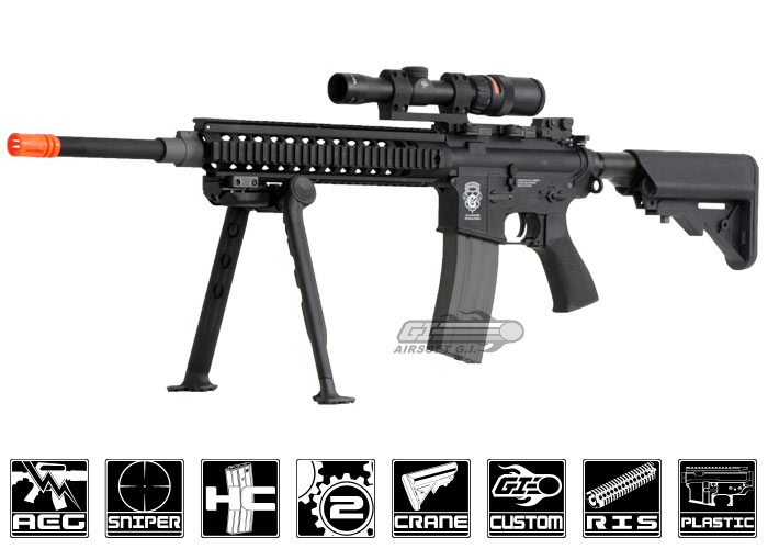 how to build a electric airsoft gun