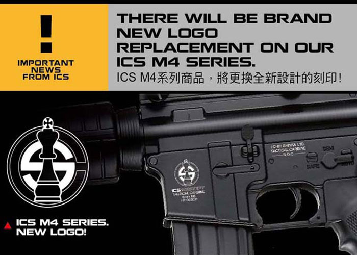 ICS New M4 Logo Design