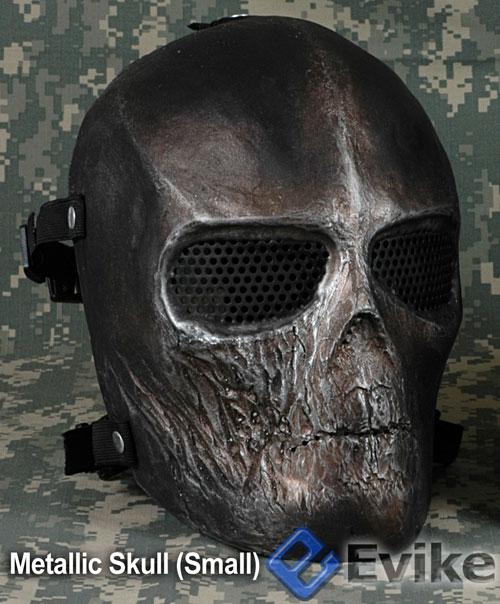 Matrix Cactus Hobby Custom Full Face Airsoft Metallic