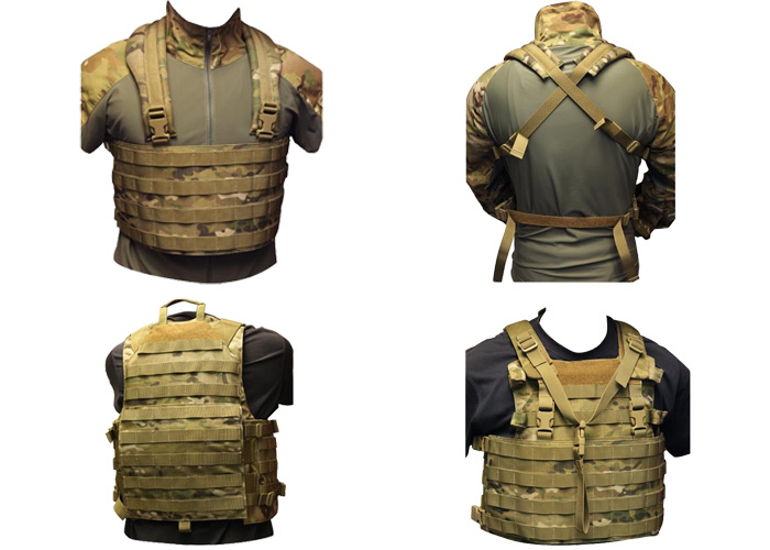 OPS Integrated Plate Carrier Tactical Vest | Popular Airsoft