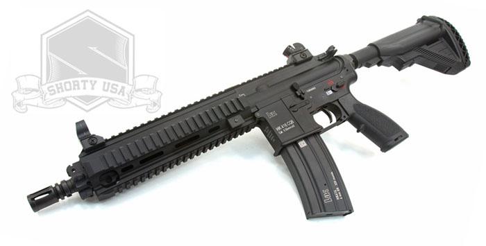 Shorty USA: VFC HK416 CQB & SRC AK AEGs