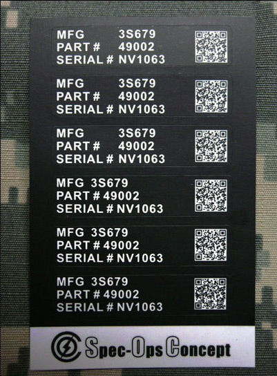 Custom Car Stickers >> Spec-Ops-Concept Military QR Code Sticker | Popular Airsoft