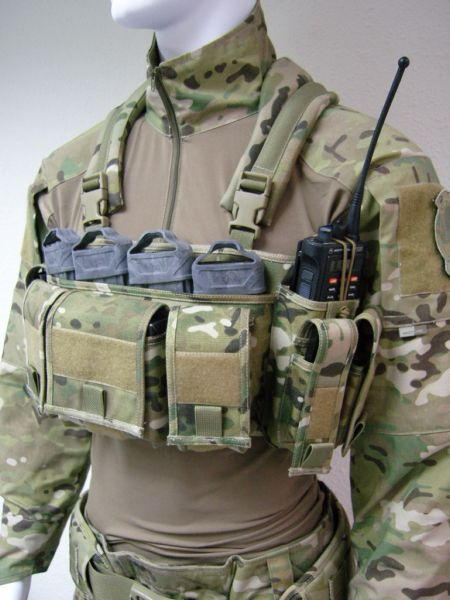 Ur Tactical Low Profile Chest Rig In Crye Multicam