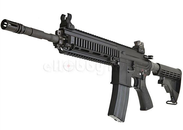 We hk416 open bolt gas blowback rifle popular airsoft
