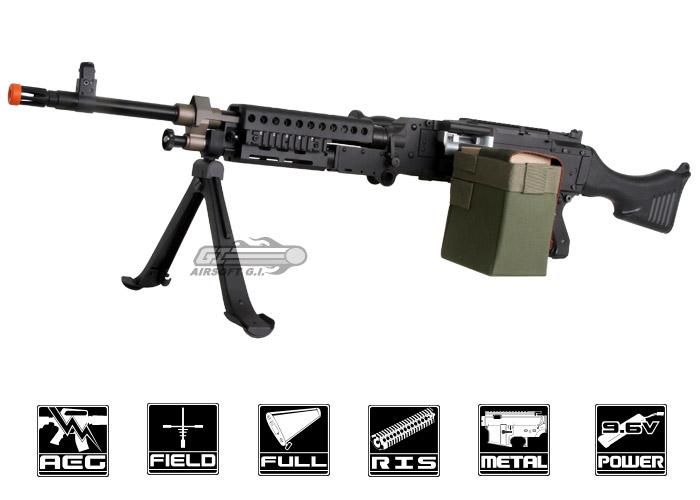 echo1 full metal m240 bravo airsoft gun popular airsoft