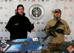 Airsoft Megastore Cyma Cybergun Colt M4 CQB-R AEG Rifle Review