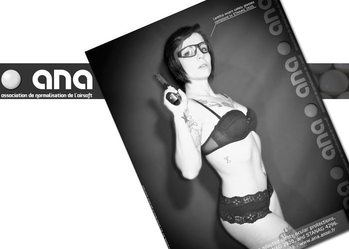 ANA Visual Campaign 2011 April, Laetitia
