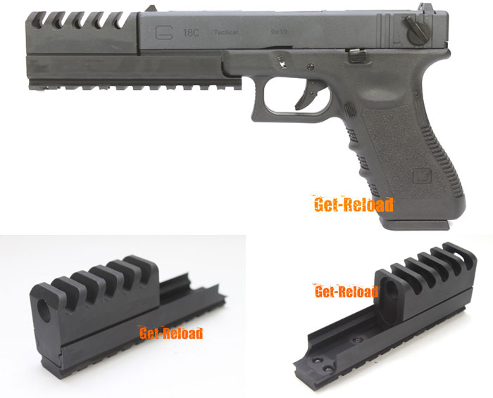 Looking for a compensator for my WE G18c  : airsoft