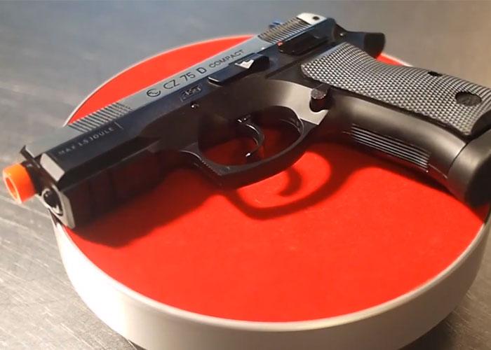 CZ 75 CO2 GBB Pistol Review by Moondog Screencap