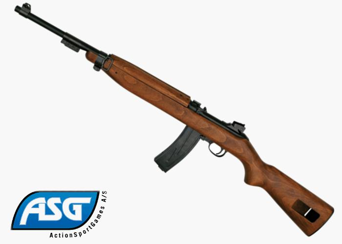 Marushin Asg M1 Carbine Gas Blowback Airsoft Rifle Pictures to pin on