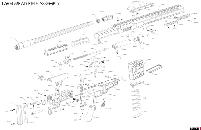 M16 Exploded View Diagrams