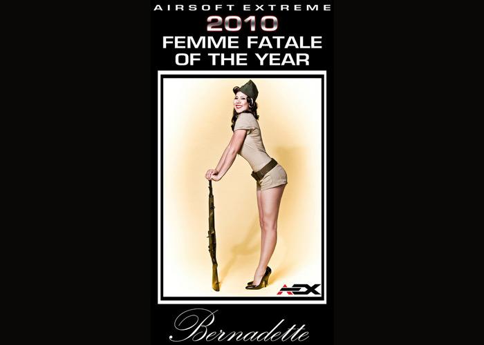Bernadette AEX Overall Femme Fatale 2010 Winner