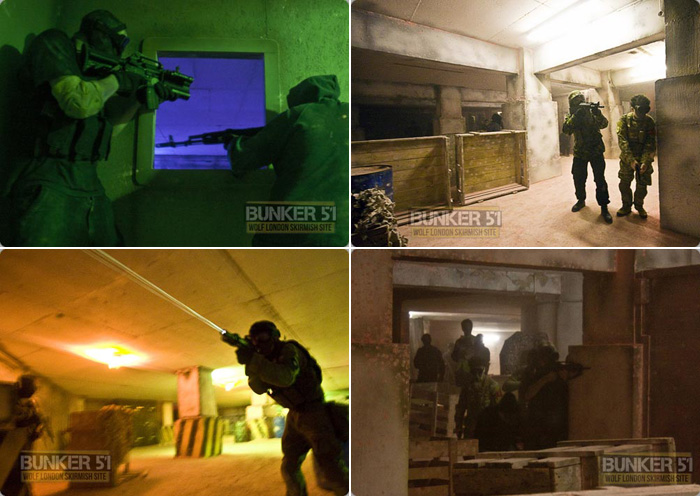 Paintball Bunker 51 Bunker 51 is Operated by