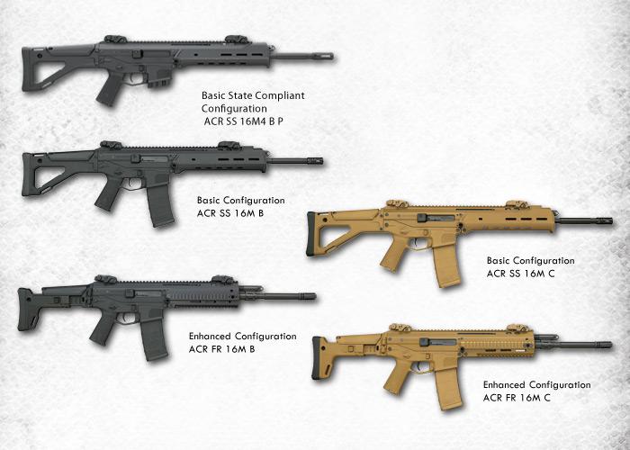 Acr Airsoft Gun acr: a confusing rifle? | popular airsoft