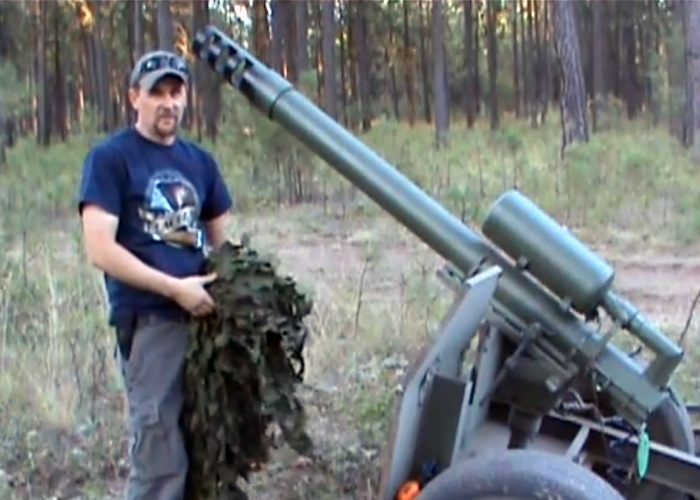 I Love Big Guns In Air... Paintball Howitzer