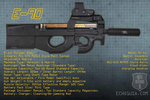 Echo1 USA E-90 Released   Popular Airsoft