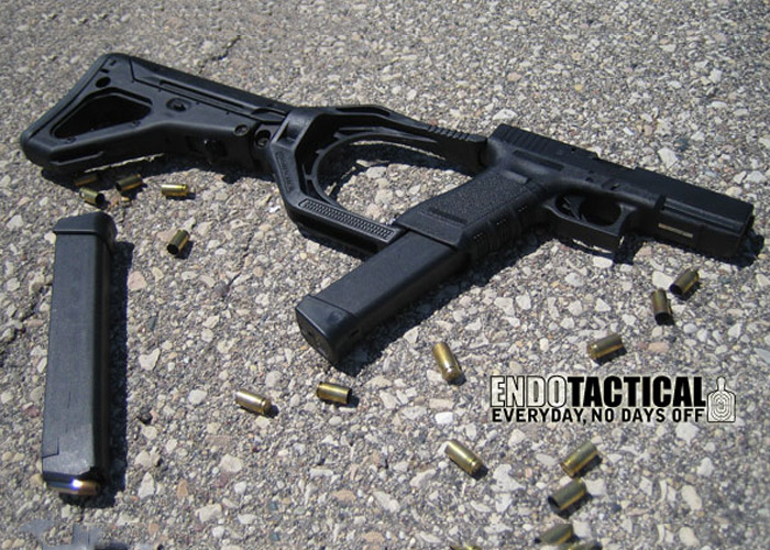 Tactical Stock Adaptor For Glock 17 Popular Airsoft
