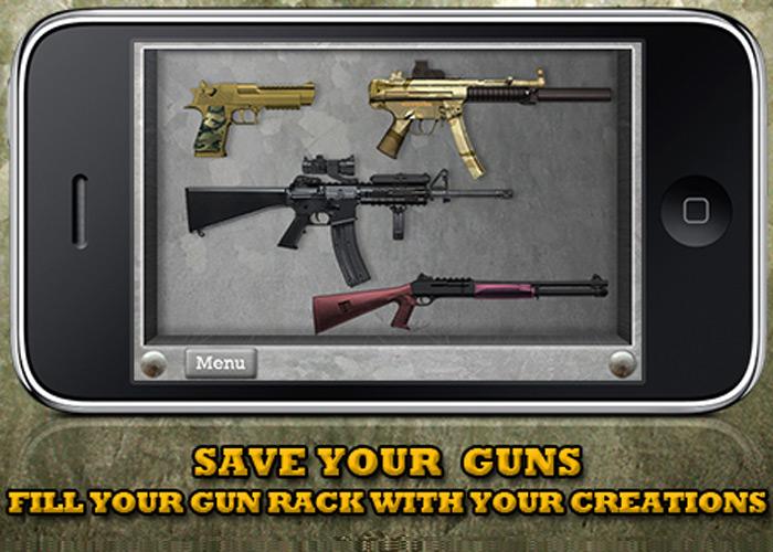 Gun Builder iPhone App 01