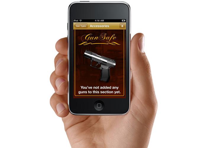 Gun Safe iPhone App
