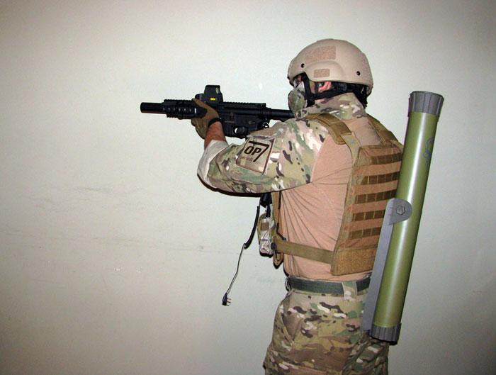 Mortero Airsoft Hades Arrow 70mm  Hakkotsu_hades_mortar_review_10