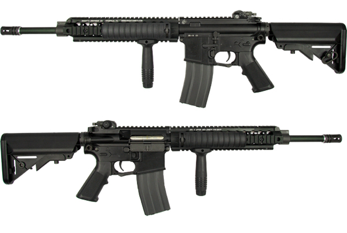 Knights Sr 16 E3 Aeg Series Are Back Popular Airsoft