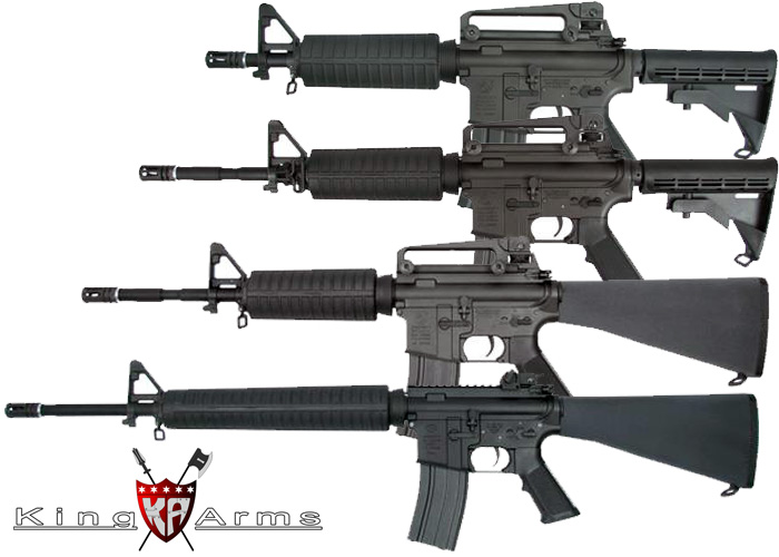 King Arms Colt M4s & FN M16A4