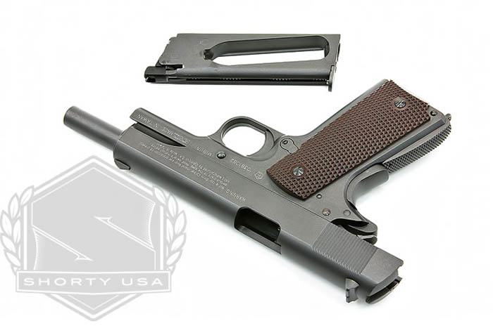 Kwc 100th Anniversary Colt M1911 A1 Co2 Popular Airsoft