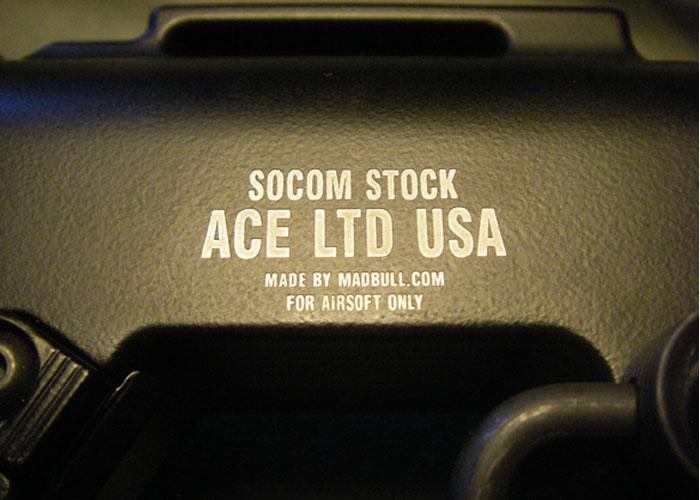 MadBull ACE Stock Sechoo