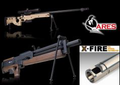PDI Japan Ares Airsoft AW338 & WA2000 6.01 & 6.05 Inner Barrel