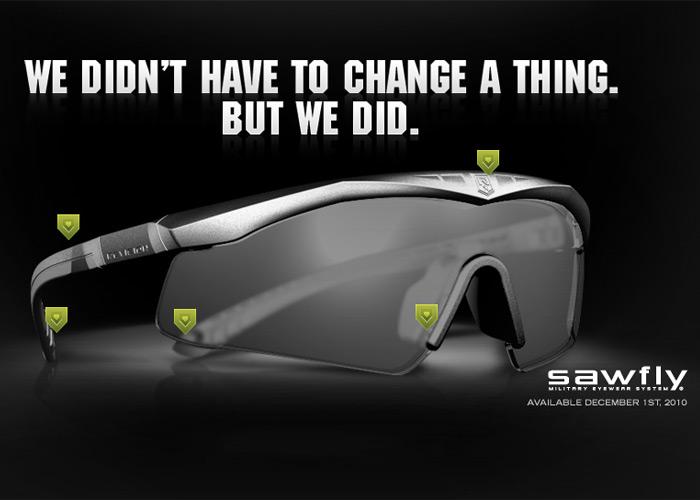 Revision New Sawfly Military Eyewear