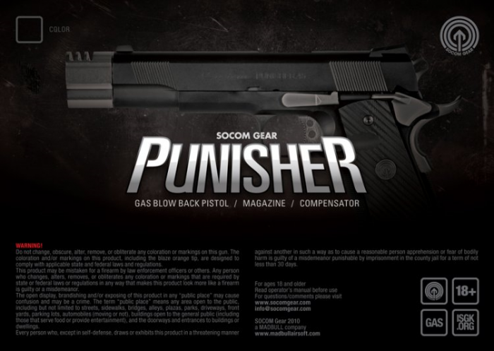 SOCOM Gear Punisher 1911 01