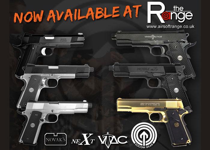 New Pistols at The Range 11 Feb 2012