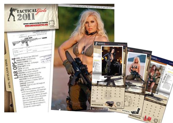 Tactical Girls 2011 Calendar