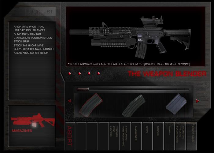 Weapon Builder Gun Builder
