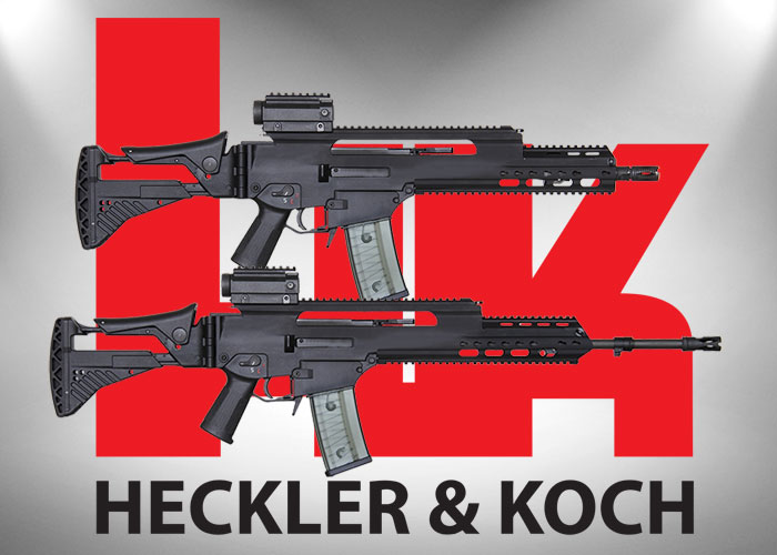 Heckler & Koch HK233 & HK233K Rifles