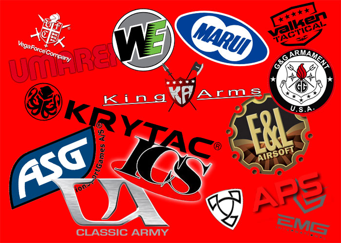 Airsoft Brands