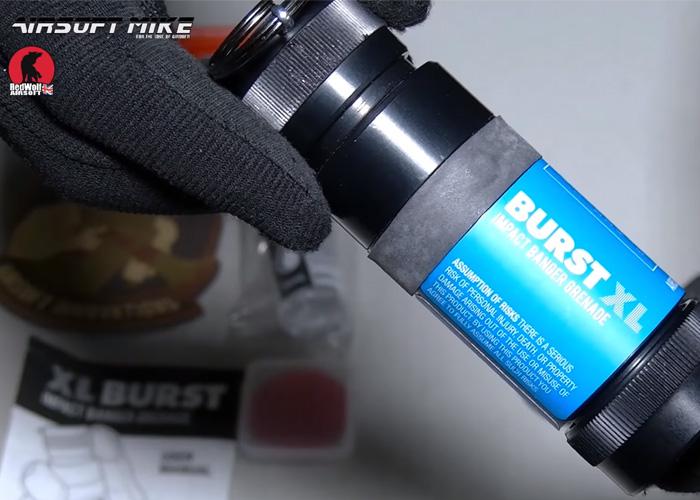 Airsoft Mike: AI XL Burst Impact Grenade