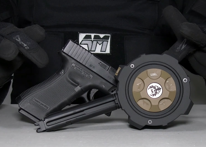Airsoft Mike: HFC Gas Drum Mag HD