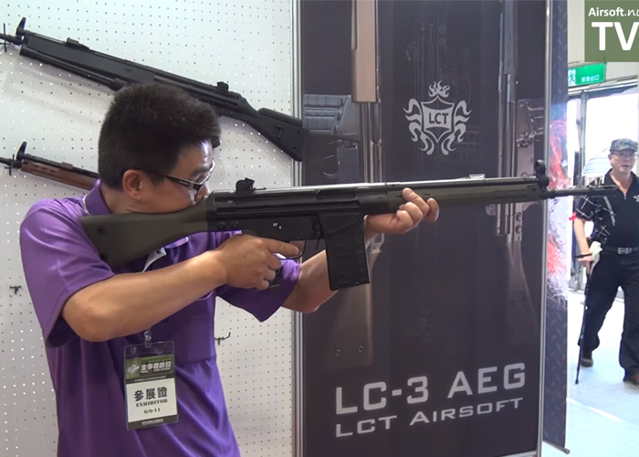 Airsoft.nu: LCT LC-3 At Camo Fest