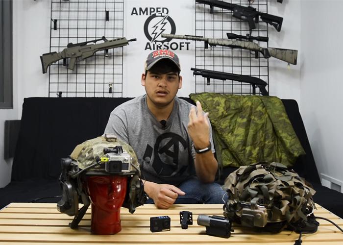Amped Airsoft Gear Talks: Helmet Cams