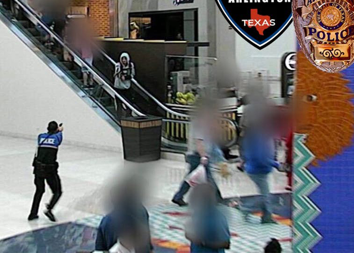 Arlington Police Photo Of November 26 Incident